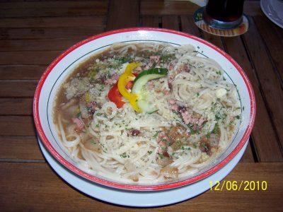 Spaghetti Carbonara auf tschechisch