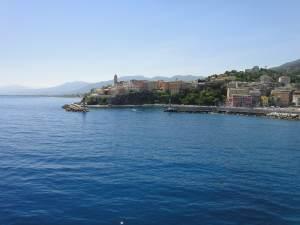 letzter Blick auf Bastia