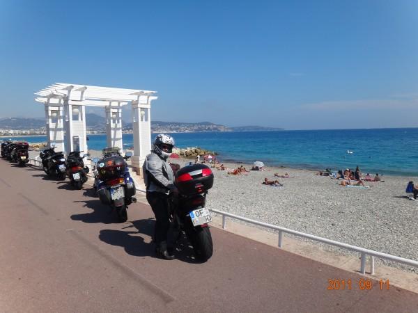 ganz viel warm in Nizza