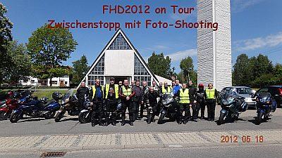Fotostopp beim FHD