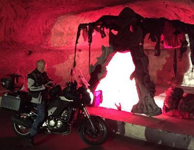 Motorradhoehle in Tschechien